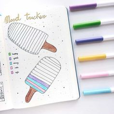 52 Bullet Journal Mood Tracker Ideas Volume 2 - The Thrifty Kiwi Step right up! Get your bullet journal mood trackers here! Check out these 52 very cool mood tracker ideas for your bullet journal! Bullet Journal Tracker, Bullet Journal Weekly Spread, Bullet Journal Spreads, Bullet Journal Cover Ideas, January Bullet Journal, Bullet Journal Notebook, Bullet Journal Themes, Bullet Journal Inspo, Bullet Journal Layout