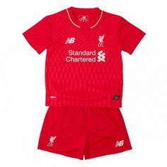 Maglia Liverpool Bambino Home Liverpool, Rompers, Dresses, Fashion, Vestidos, Moda, Fashion Styles, Romper Clothing, Romper Suit