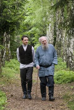 James McAvoy & Christopher Plummer in The Last Station