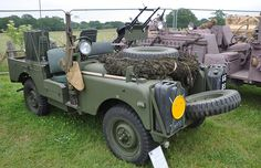 """1957 Series 1 Landrover 88"""" SAS vehicle 929 XUR - The Dunsfold Collection   by Rob Lovesey"""