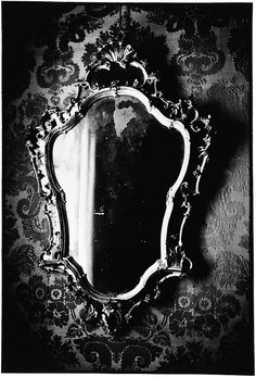 "Mirror Mirror .. I have heard told that people's "" energy "" can be absorbed by mirrors and remain within after they have passed."