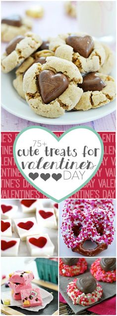 75+ cute treats to make for Valentine's day!
