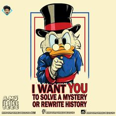 I Want You To Solve A Mystery Ducktales Uncle by AMoDesignTees