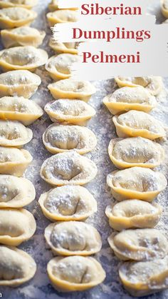 Russian meat dumplings Pelmeni are little pasta pockets filled with beef, pork and spices. Serbian Recipes, Ukrainian Recipes, Russian Recipes, Ukrainian Food, Russian Foods, Dumplings, Dumpling Recipe, Bon Appetit, Pasta Dishes