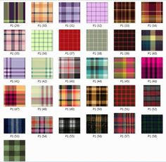 77 pattern 59 Plaid textures for Sims 3