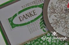 STAMPIN' UP! born2stamp Dankeskarte - Awesomely Artistic - Grußelemente - InColor