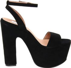 I usually don't like the thicker heel, but I adore these!