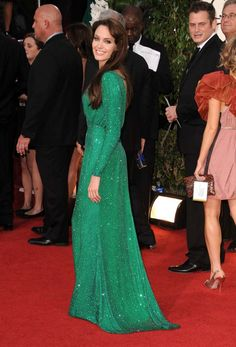 She's a despicable husband stealer, but I still love this Emerald City-esque dress