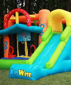 Look at this Double Shot Bounce House on #zulily today!