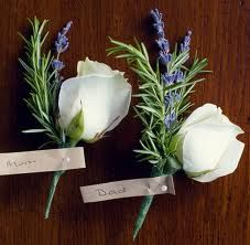 lavender wedding buttonholes - Google Search