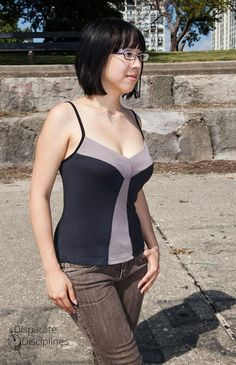 Free Sewing Pattern: Yellow Tail Camisole