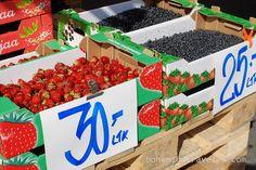berries for sale at Tammelantori Market Tampere Finland by BohemianTraveler, via Flickr