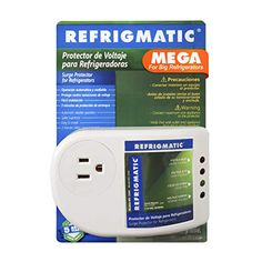Refrigmatic MEGA Electronic Surge Protector for Big Refrigerators 27 cu. ft. or More Refrigmatic