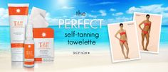 Another self tan fav...  Perfect for travel and super easy to use. I think on special today 3.8.2012 on HSN.