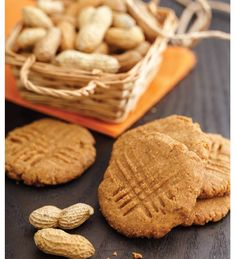 """For Recipe: CLICK on PIC and when taken to 2nd pic click again..Old-Fashioned Peanut Butter Cookies..  ...Recipe by George Stella... ...For tons more Low Carb recipes visit us at """"Low Carbing Among Friends"""" on Facebook"""