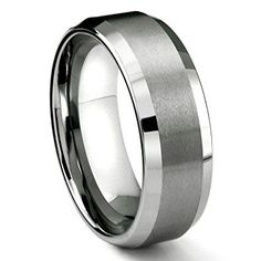 16 Unique and Affordable Men's Tungsten Wedding Bands!