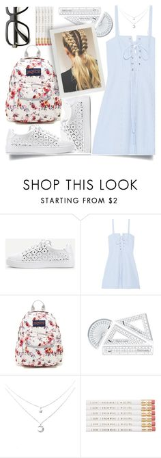 """Summer school"" by hanisi ❤ liked on Polyvore featuring WithChic, Solid & Striped, JanSport and ZeroUV"