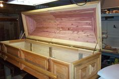 Casket - Done by Wheaties  -  Bruce A Wheatcroft   ( BAW Woodworking)