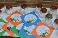 Children's Music CD Party Favors #partyfavor
