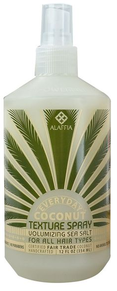 Alaffia Everyday Coconut Texture Spray