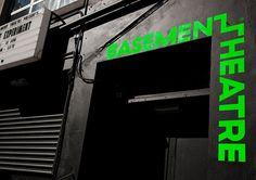 Basement Theatre identity design