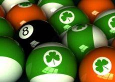 Shamrock Billiard Balls