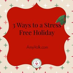 3 ways to stress fre