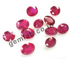 Natural Ruby Gemstones | Gemlab the Real Gemstones Natural ruby Gemstones gemlab.co.in