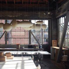 heath studio taken by alexandra sklar | George Nelson Bubble Lamps | http://modernica.net/lighting/pendant/