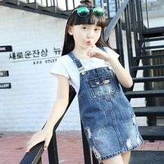 2017 Fashion Wholesale Soft Cowboy Girl Suspenders Skirt Supplier Odm&oem - Buy Manufature Cowboy Suspenders Skirt,Suspender Skirt Odm&oem,Kid Jeans Girl Product on Alibaba.com Girls Denim Dress, Girls Jeans, Jeans Dress, Girls Dresses, Girls In Suspenders, Stylish Little Girls, Kids Outfits, Cute Outfits, Cowboy Girl
