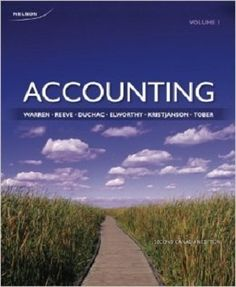 Free Test Bank for Accounting 2nd Canadian Edition by Warren is designed under a user-friendly format with lots of accounting free test bank questions and answers, which is very useful for accounting learners to grasp important understanding. Through a clear presentation of analysing transactions, adjusting process, completing the accounting cycle and internal cash flow control, this test bank will ensure you to have a solid ground of accounting for merchandising businesses.