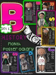 Free - Posters - Ruby Bridges, George Washington Carver BLACK HISTORY MONTH