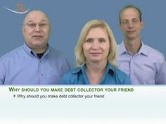 Make Good Friendship With Debt Collectors To Save Dollars. Check out the 3 reasons for being extra friendly with them. Steve Rhode, Gerrie Detweiler and Michael Bovee unveil the benefits you'll reap by talking with the collectors in a friendly tone. The first benefit is that the debt collector will give you some time to pay off debt. The second benefit is that you'll get a better deal from the collector.  http://www.youtube.com/watch?v=Xml19U1OWks