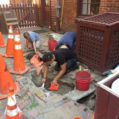 And we're back! Only about one week left to the dig #boston #archaeology #history #digbos