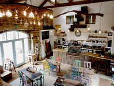 The Bivouac's gorgeous cafe, in North Yorkshire, offers delicious home cooked food