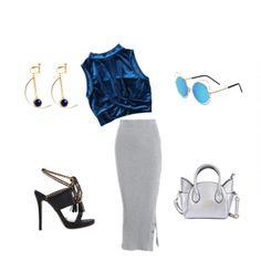 Silver Blue Night