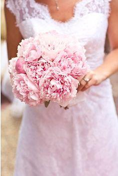 #Pink #peony #bouquet