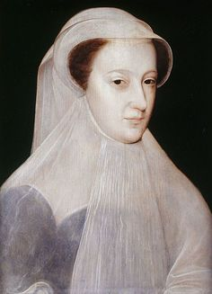 Storia di Mary Stuart, vedova e in lutto a 18 anni – dipinto di François Clouet