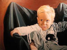Portrait of a child, Cody Seekins