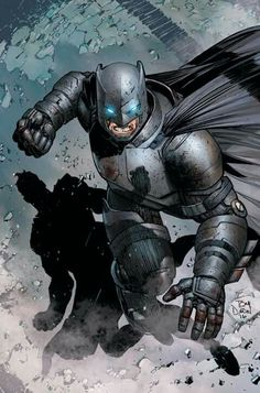 Armored Suit Batman