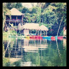 Buen viernes a todos. Les dejo una foto de #Nanciyaga un lugar cerca de #Catemaco donde podrás relajarte http://www.aventuraextrema.com.mx/nanciyaga.htm #Veracruz  Photo by turismoenveracruz • Instagram