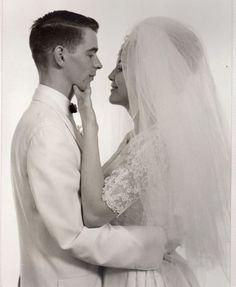 My Parents On Their Wedding Day - 1964 Vintage Wedding Photos, Vintage Bridal, Wedding Pictures, 1960s Wedding, Wedding Couples, Wedding Bride, Wedding Attire, Wedding Gowns, Korean Bride