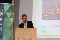 David Rand hosting the Compassion Week 2014 Awards