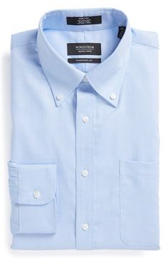 Nordstrom Traditional Fit Non-Iron Dress Shirt available at #Nordstrom