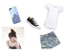 """""""ally"""" by rain-478 ❤ liked on Polyvore featuring мода, 2nd Day, Boohoo, Converse и Free People"""