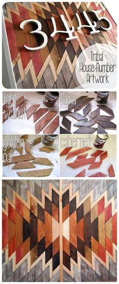 DIY Wooden Kilim Native American Wall Art Tutorial - so beautiful! Full Step by Step Do it Yourself Tutorial {Reality Daydream{