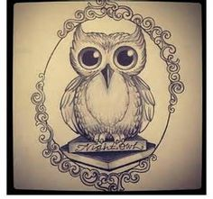 Owl and Book Tattoo - Bing images