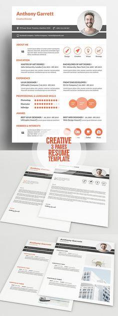 Free Resume Template for Everyone CVu0027s Design Pinterest - impressive resume