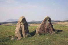 Moos Farm Stone Circle near Machrie Moor  (© r.j.hirst by alba-collection.com)