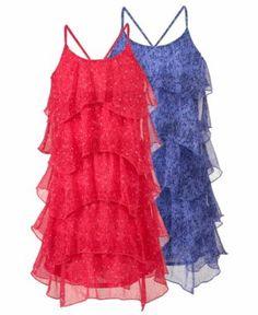 Epic Threads Kids Dress, Girls Chiffon Tiered Halter Dress - Kids Girls 7-16 - Macy's